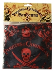 Disney Bandana - Pirates of the Caribbean - Red