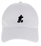 Disney Hat - Nike Baseball Cap - Mickey Mouse Standing - White
