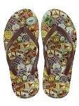 Disney Flip Flops for Men - Mickey Mouse Park Patches