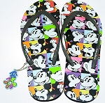 Disney Flip Flops for Women - Oh Mickey - Mickey Mouse