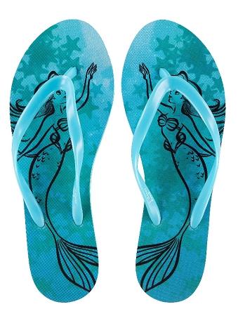 534f01aa2c8 Add to My Lists. Disney Flip Flops for Women - Ariel - Little Mermaid