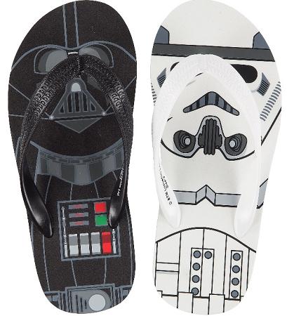 star wars flip flops adults
