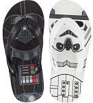 Disney Flip Flops for Boys - Star Wars - Darth Vader and Stormtrooper
