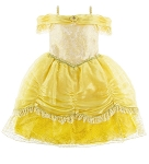 Disney Costume for Girls - Princess Belle - Yellow