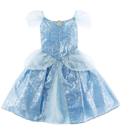 Disney Costume for Girls - Princess Cinderella  - Blue