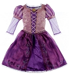 Disney Costume Dress for GIRLS - Princess Rapunzel - Tangled - Purple