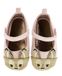 Disney Infant Shoes for Girls - Bambi - Faux Suede