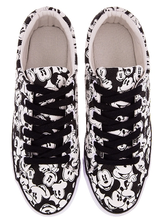 d0064195d0d2 Add to My Lists. Disney Canvas Shoes for Women - Classic Mickey Mouse ...