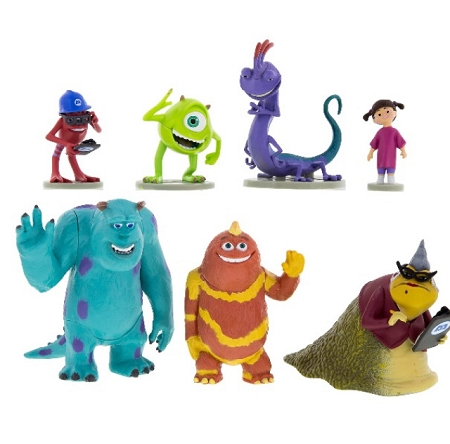 Disney Figurine Set - Monsters Inc. Play Set