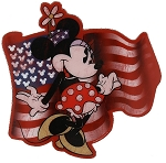 Disney Magnet - Minnie Mouse with Flag - USA