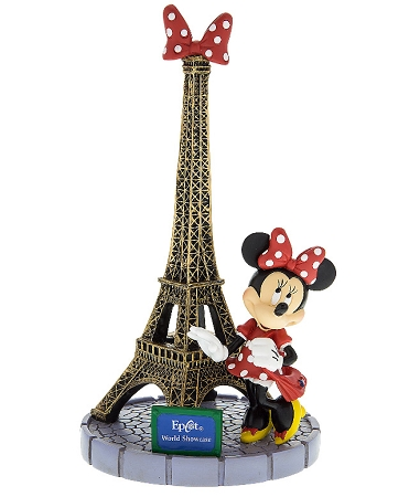 Disney Figurine Minnie Mouse Eiffel Tower