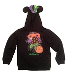 Disney Girls Sweatshirt with Hood - Halloween Minnie Mouse Witch