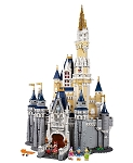 Disney Lego Playset - Cinderella Castle - 4080 Pieces