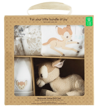 ea27834f0 Disney Infant Gift Set - Bambi - Welcome Home - 4 Piece