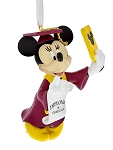 Disney Christmas Ornament - Graduation - Minnie Mouse Selfie