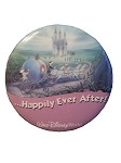 Disney Souvenir Button - Happily Ever After - Cinderella
