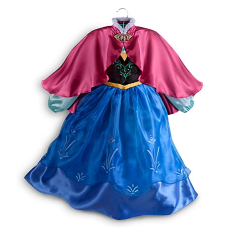 Disney Costume for Girls - Anna - Frozen