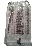Disney Scarf - Sequined Mickey Mouse Icon - Gray