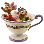Disney Jim Shore Figurine - Gus and Jaq - Tea for Two