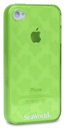 Sea World IPhone 4 Case - Turtles - Translucent Green