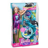 Sea World Barbie Set - A SeaWorld Trainer Doll Play Set