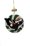 Sea World Christmas Ornament - Shamu Candy - Resin