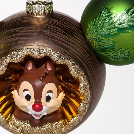 Disney Christmas 2019 Chip n Dale Ornament Pin