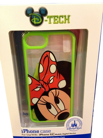 Disney IPhone 5C Case - Minnie Mouse - Clear Green