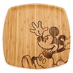 Disney Platter - Bamboo Mickey Mouse