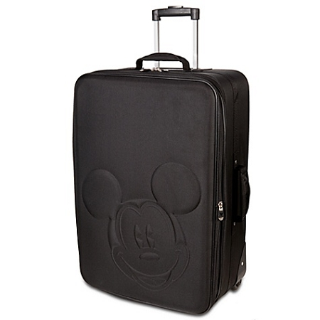 Disney Luggage - Rolling Mickey Mouse Head Suitcase  -- 20''