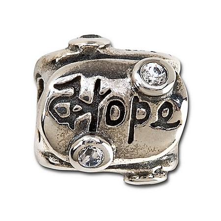 Disney Chamilia Charm - Sterling Silver Love Hope Dream