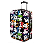 Disney Luggage - Rolling Pop Art Mickey Mouse Suitcase -- 20''