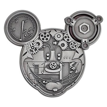 Disney Pin- Mechanical Mickey Mouse Face