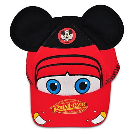 Disney Hat - Baseball Cap - Cars in the Park - Lightning McQueen for Kids