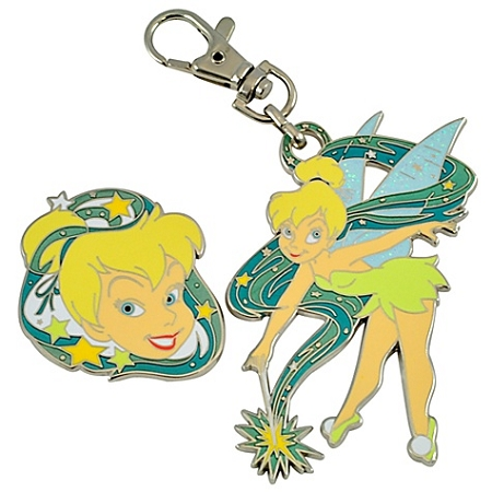 Disney Lanyard Medal and Pin Set - Tinker Bell