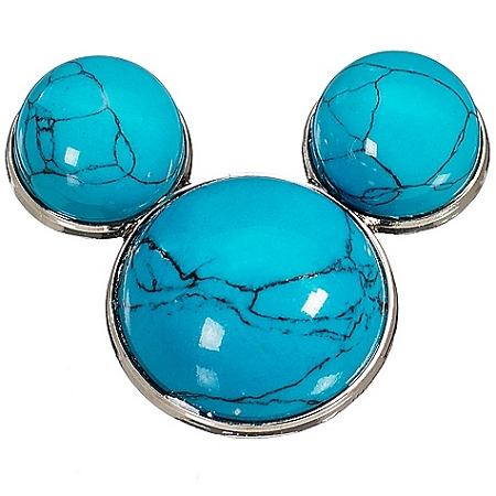Disney Pin-Blue Turquoise Mickey Mouse