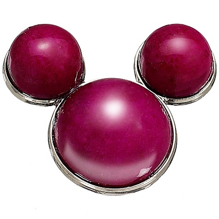 Disney Pin- Fuchsia Calcite Mickey Mouse