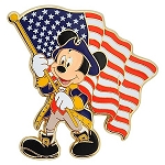 Disney Mickey Mouse Pin - American Flag