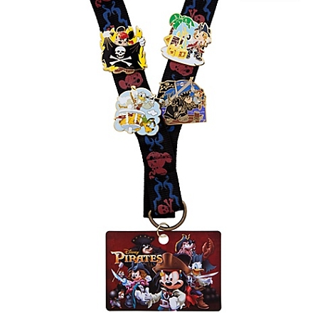 Disney Pin Starter Set - Pirates  -- 4-Pcs