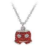 Disney Arribas Necklace - Swarovski Crystal Mickey Mouse Shorts