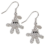 Disney Arribas Earrings - Mickey Mouse Glove