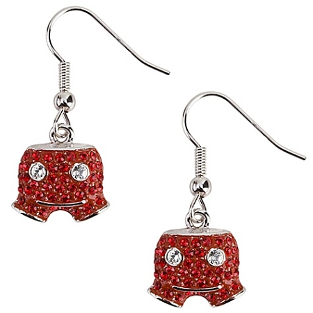 Disney Arribas Earrings - Swarovski Crystal Mickey Mouse Shorts
