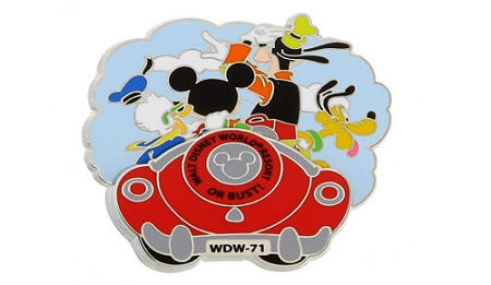 Disney Mickey Mouse Pin - Gang Road Trip to the Walt Disney World