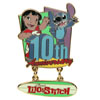 Disney Lilo & Stitch Pin - 10th Anniversary - Limited Edition