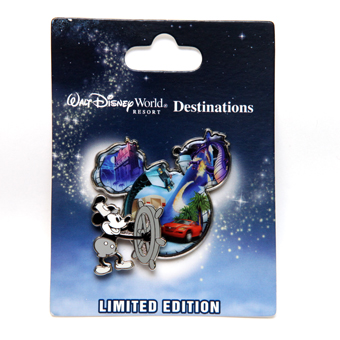 Disney Mickey Mouse Pin - Steam Boat Willie - Limited Edition