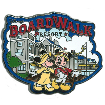 Disney Boardwalk Resort Pin - Logo