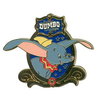 Disney Pin- Dumbo the Flying Elephant Attraction