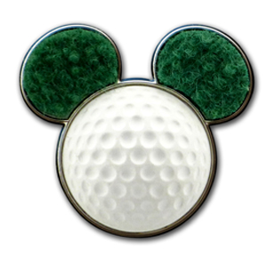 Disney Golf Pin - Mickey Mouse Golf Ball