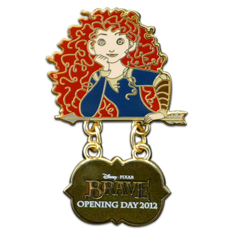 Disney Pixar's Brave Pin - Opening Day - Limited Edition