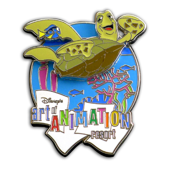 Disney Art of Animation Pin - Resort Logo